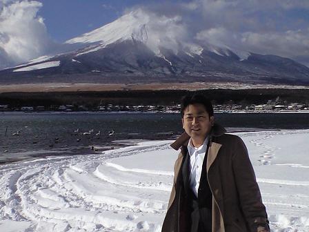 熊沢と富士.JPG